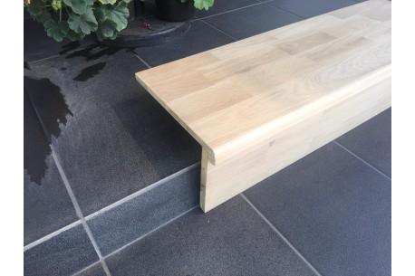 Trepte si contratrepte pentru scara din lemn masiv stejar sau fag